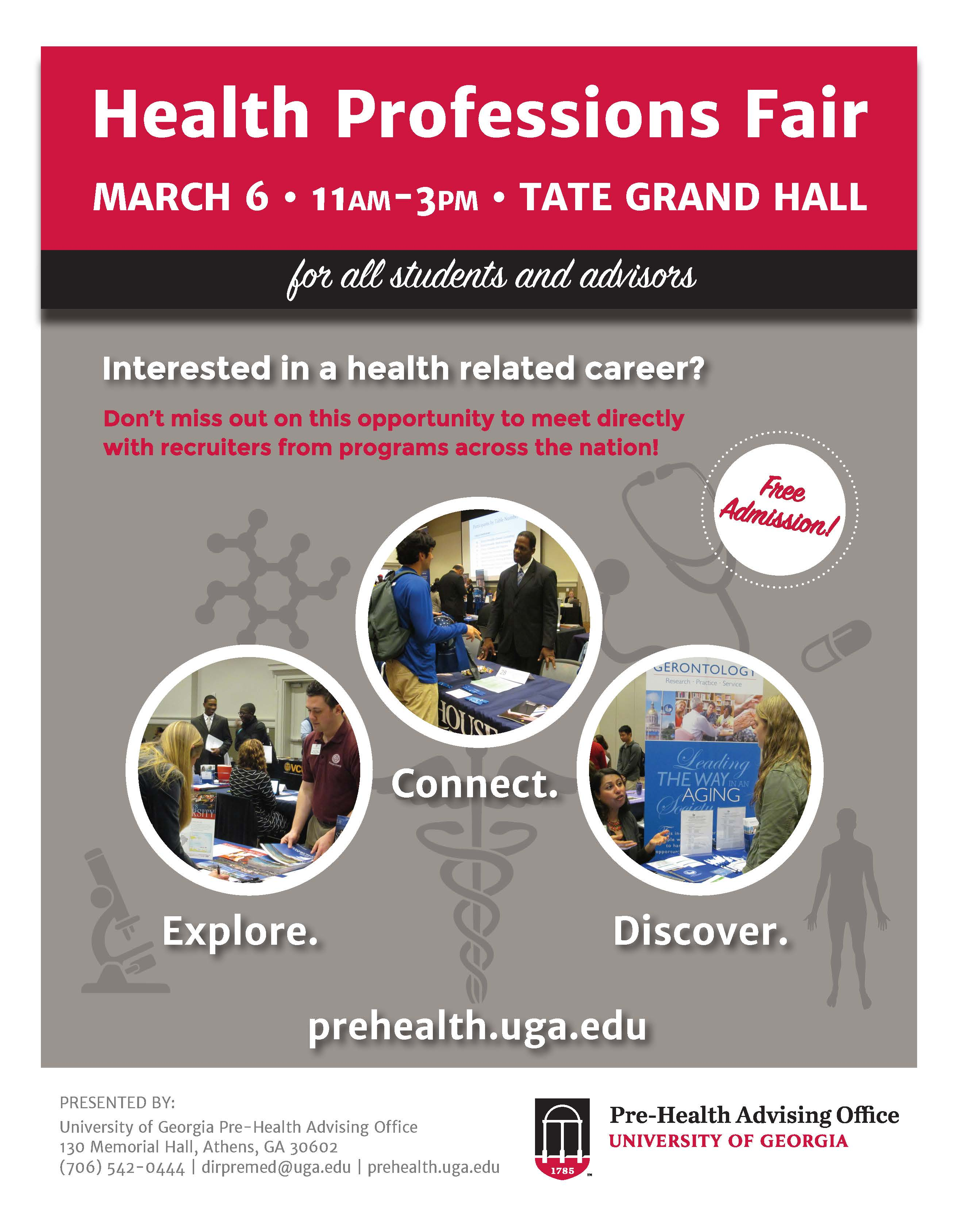 Health Professions Fair 2018 | Pre-Health Advising Office